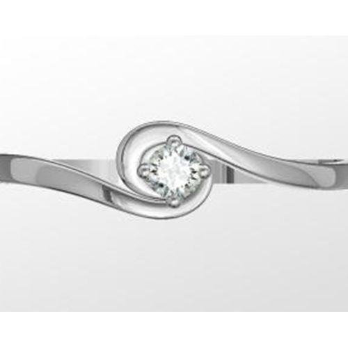 טבעת יהלום אלגנטית