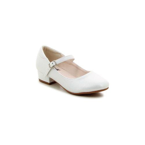 נעלי בובה טקסטורה מבריקה