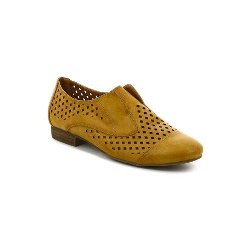 נעלי אוקספורד עם חיתוך מעויין