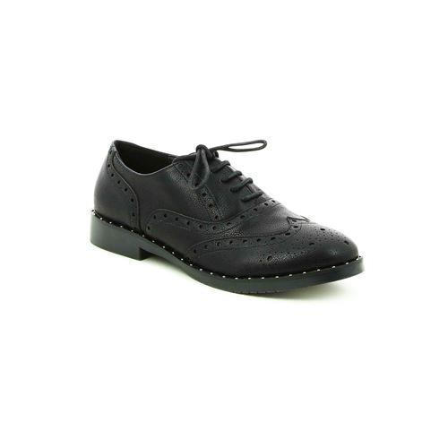 נעלי אוקספורד ניטים שחור