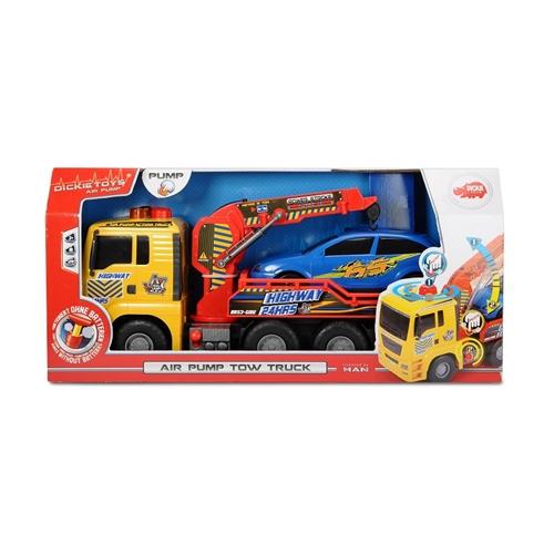 """משאית גרר 55 ס""""מ עם משאבת אוויר להרמת רכב DICKIE"""