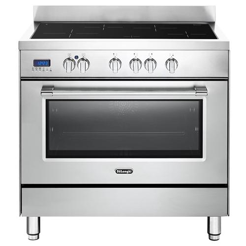 """תנור משולב כיריים אינדוקציה מפואר 90 ס""""מ Delonghi"""