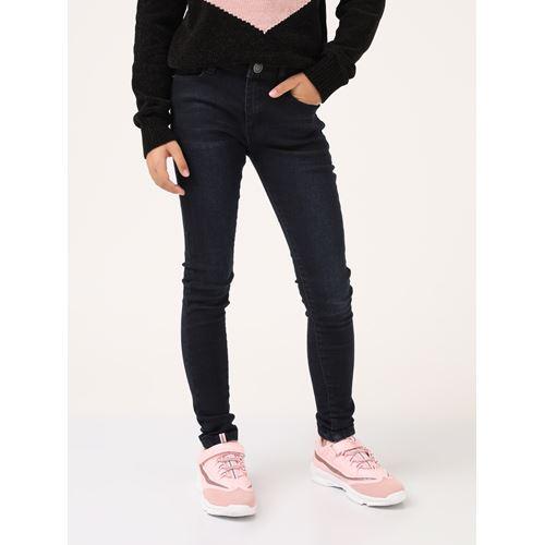 סקיני ג'ינס כחול כהה