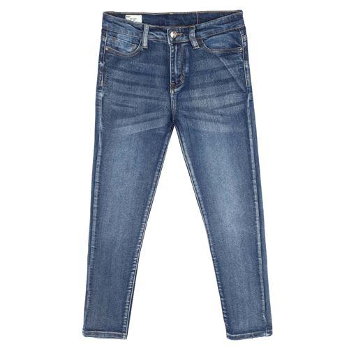 מכנס ג'ינס משופשף
