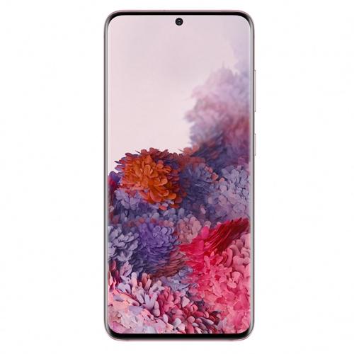 סמארטפון  SAMSUNG GALAXY S20 בצבע ורוד
