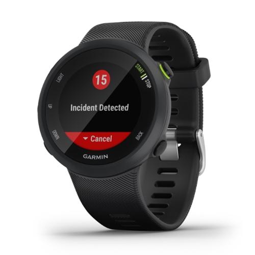 שעון ריצה ספורט GPS  דגם Forerunner 45 שחור