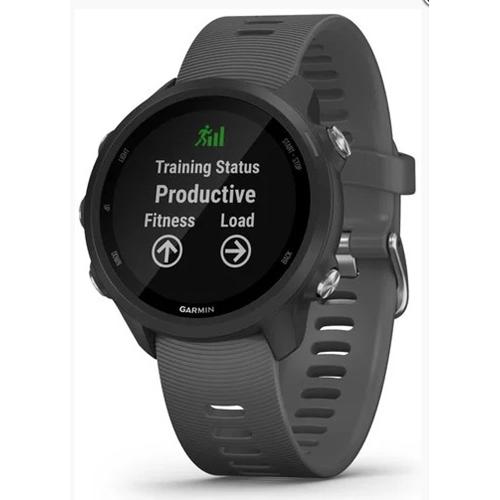 שעון ספורט GPS מודד דופק דגם  Forerunner 245 אפור