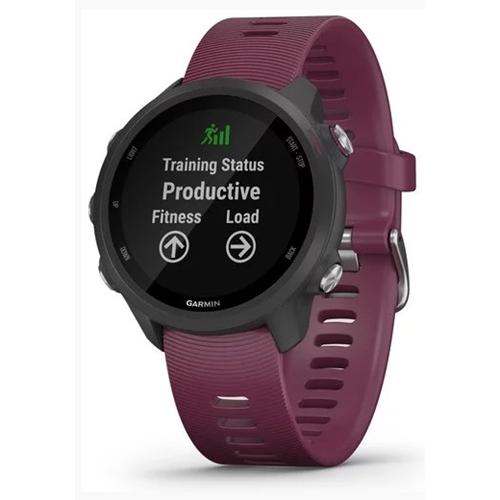 שעון ספורט GPS מודד דופק דגם Forerunner 245 דובדבן