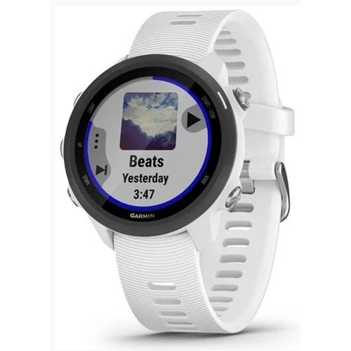 שעון ספורט לריצה דגם Forerunner 245 Music לבן