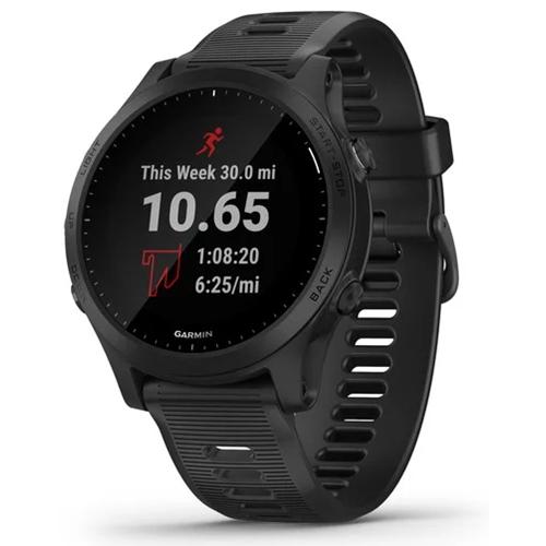 שעון מולטי ספורט לטריאתלטים Forerunner 945 שחור