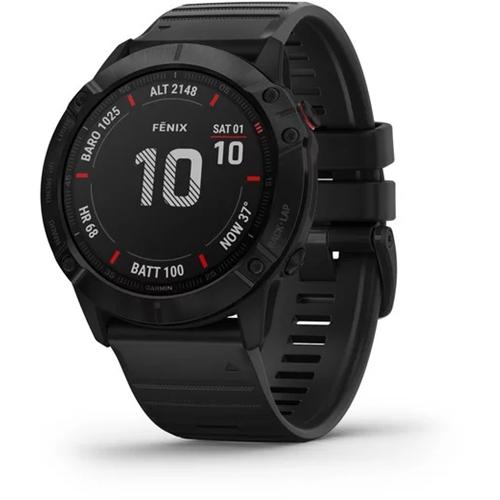 שעון דופק מולטי ספורט דגם fenix 6X - Pro שחור