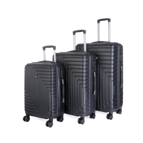 סט 3 מזוודות POLO SWISS בגדלים 20, 24 ו-28 אינץ'