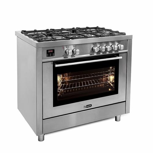 """תנור אפייה משולב דיגיטלי ברוחב 90 ס""""מ דגם OH-T-990"""