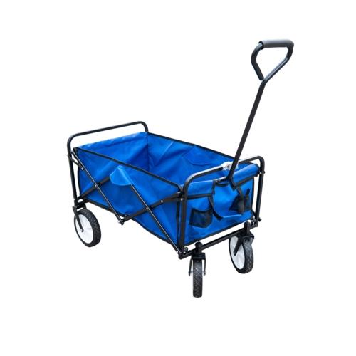 עגלת קמפינג איכותית עם 4 גלגלים לנשיאה קלה ונוחה