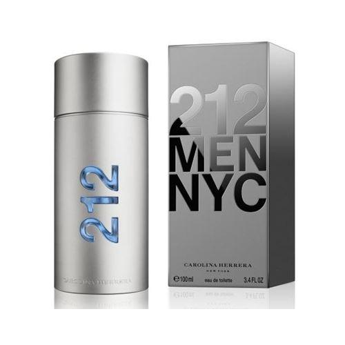 """בושם לגבר NYC קרולינה הררה 212 100 מ""""ל"""
