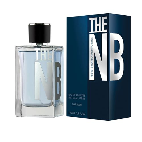 """בושם ניו ברנד THE NB לגבר א.ד.ט 100 מ""""ל"""