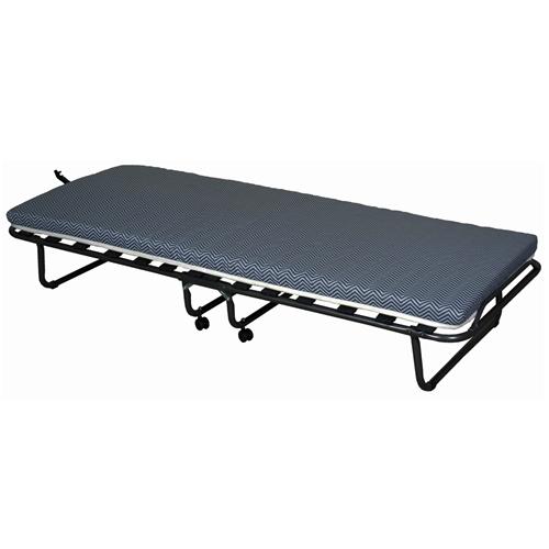מיטה מתקפלת עם מזרן 180/90 על גלגלים לשטח קמפינג