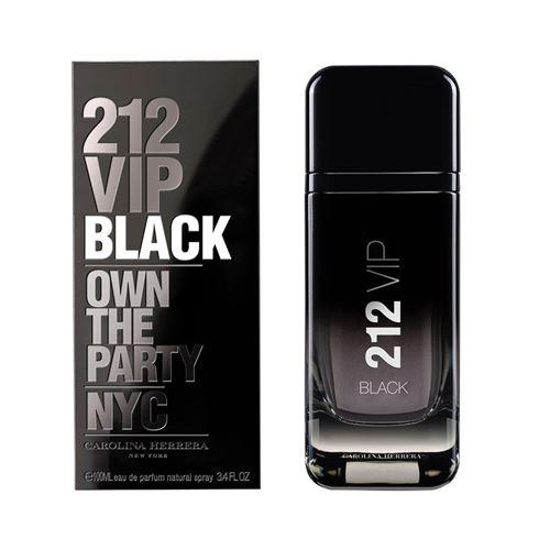 """בושם לגבר קרולינה 212 VIP BLACK א.ד.ט 100 מ""""ל"""