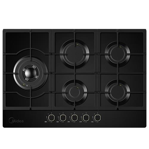 כיריים גז 5 להבות בישול בגימור שחור דגם 75G50ME060