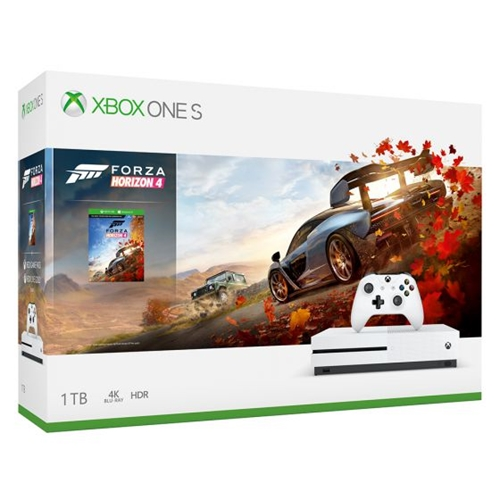 קונסולה Xbox One S 1TB הכוללת משחק Forza Horizon 4