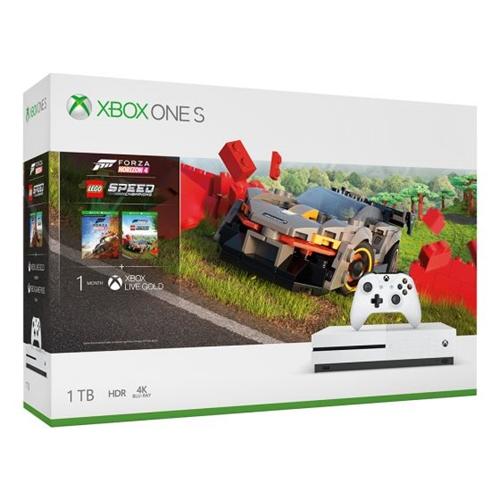 קונסולה XBOX ONE S 1TB + משחק Forza Horizon 4