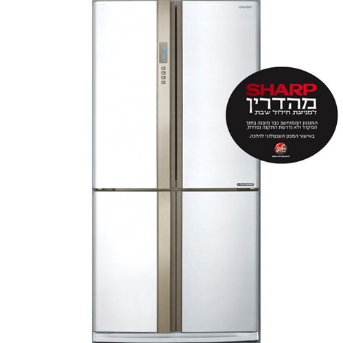 מקרר 4 דלתות Sharp היברידי 573 ליטר Sharp מהדרין