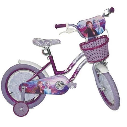 """אופניים לילדים עם גלגלי עזר מידה """"16 - פרוזן 2"""