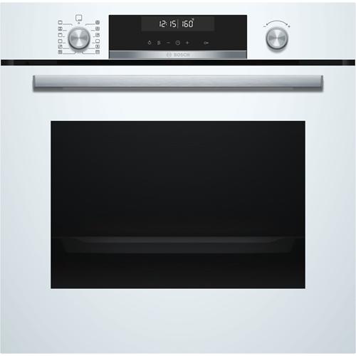 תנור אפיה בנוי פירוליטי לבן Bosch דגם HBG578BW0Y