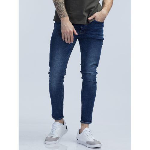 LAD ג'ינס סופר סקיני כחול כהה