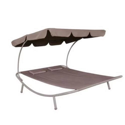 מיטת נדנדה זוגית / מיטת שיזוף זוגית דגם אורן