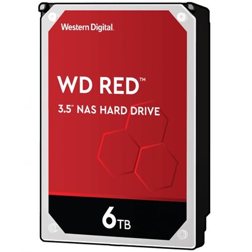 "כונן פנימי Western Digital WD60EFAX 3.5"" 6TB Red"