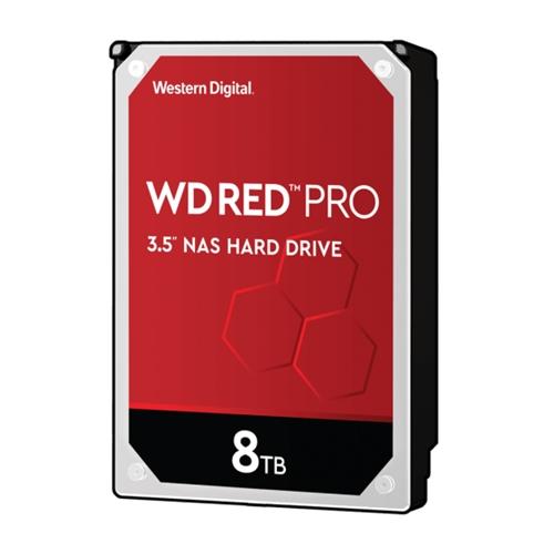 "כונן פנימי Western Digital WD8003FFBX 3.5"" 8TB Red"