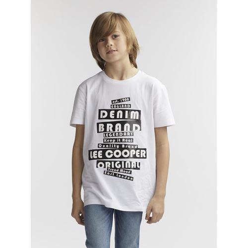 חולצת טי עם הדפס מבריק