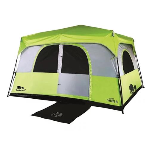 אוהל משפחתי ל- 8 אנשים דגם Rapid Cabin בעל בד עבה