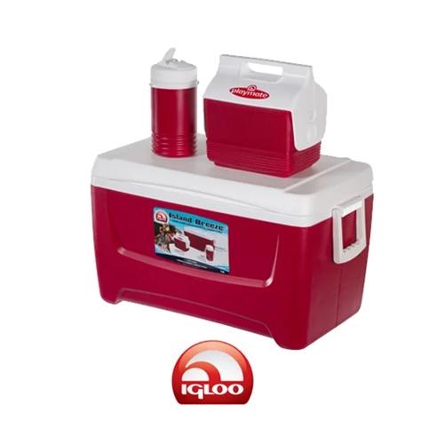 סט צידניות מושלם ואיכותי לקמפינג לים  תוצרת IGLOO