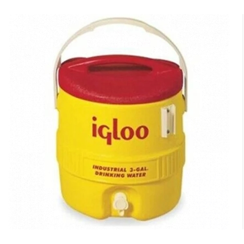 מיכל מים תעשייתי 11.34L צהוב (3 גלון)  תוצרת IGLOO