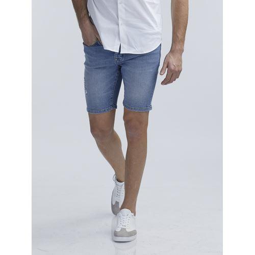 ברמודת ג'ינס ברך קלאסי