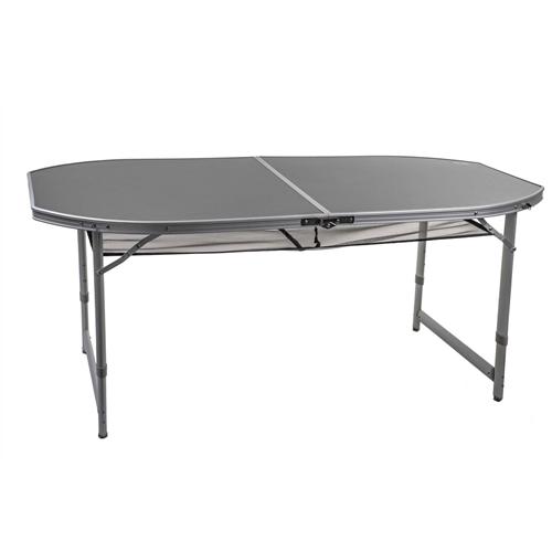 שולחן קמפינג אובלי אלומיניום מבית GO NATURE