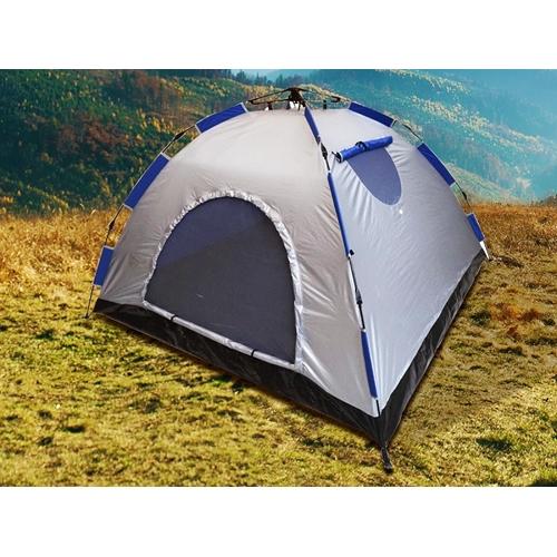 אוהל פתיחה מהירה 4 אנשים מסגרת פיברגלס חזקה
