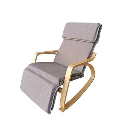 כסא נדנדה טלוויזיה שלדת עץ