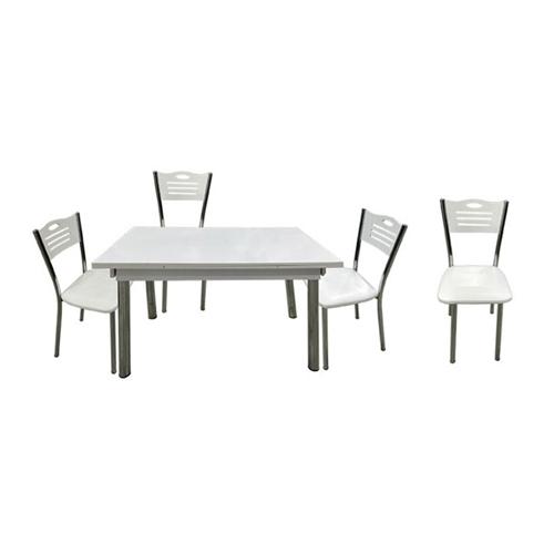 פינת אוכל עם שולחן נפתח + 4 כיסאות PLANERO
