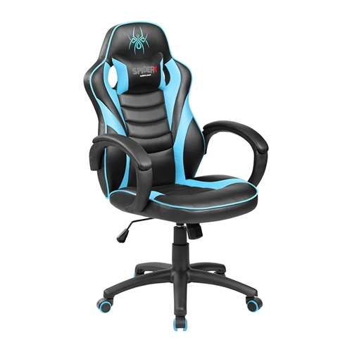 כיסא גיימרים ארגונומי ובטיחותי  SPIDER X צבע כחול