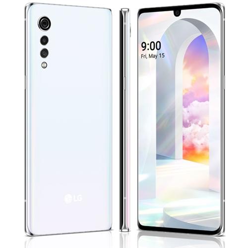 סמארטפון LG Velvet Aurora 6GB/128GB צבע לבן