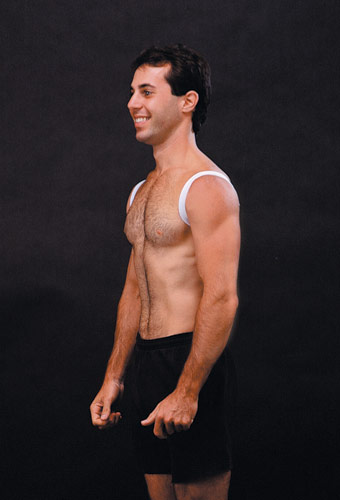 עמוד זקוף יותר והראה צעיר יותר חגורה ליישור הגב