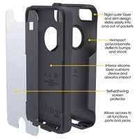 המקורי OtterBox Commuter For IPhone 6/4/4S/5/5S