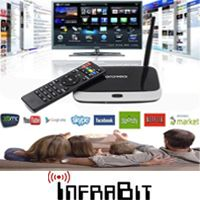 סטרימר אלחוטי SMART TV BOX ANDROID 4.4