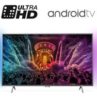 "טלוויזיה ""49 LED 4K ANDROID דגם: 49PUS6401"