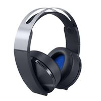 אוזניות PS4 אלחוטיותSONY Platinum Wireless Headset