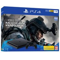 קונסולה PS4 SLIM עם משחק CALL OF DUTY החדש