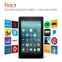 "טאבלט New Amazon Fire Tablet 7"" Tablet דגם 2019"